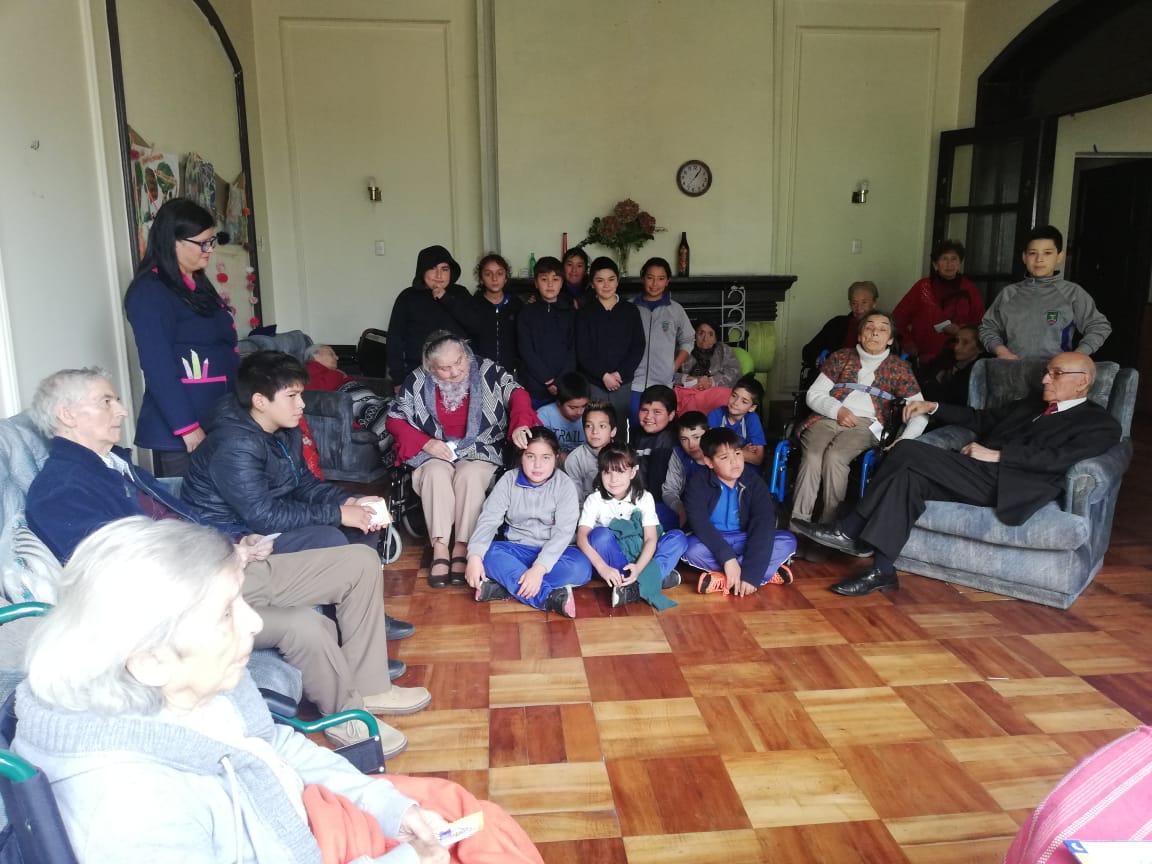 Día de la convivencia se celebró con toda la comunidad pencona