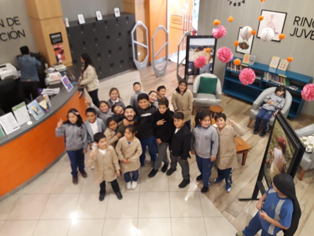 Biblioteca Viva recibió a estudiantes como nuevos socios