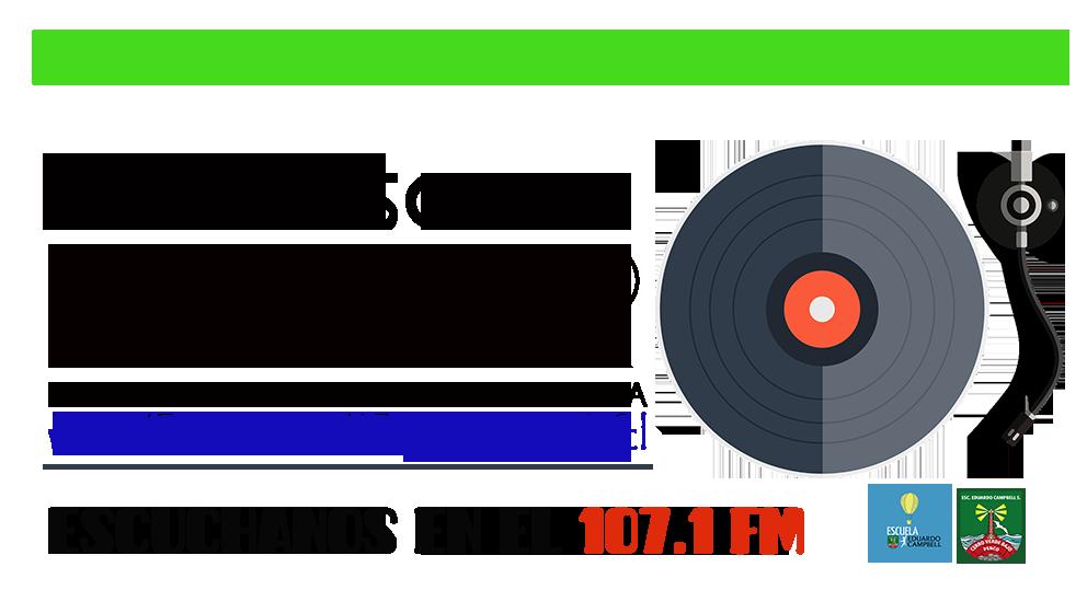 LOGO SIMPLE Radio Escolar EL FARO PROMOCION